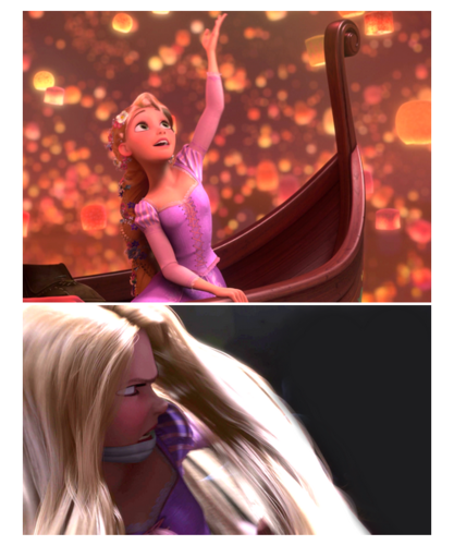 Disney Females wolpeyper possibly containing a portrait called Rapunzel