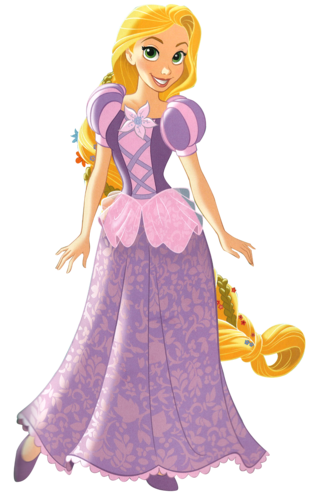 Principesse Disney wallpaper probably with a polacca, polonaise titled Rapunzel - .png file