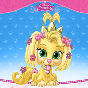 Rapunzel's dog daisy