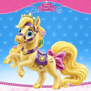 Rapunzel's pony Blondie