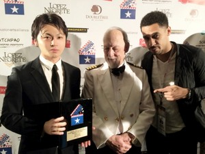 Rashad and Nagabuti Yosuke receives Special Jury Award for their film, 'MUGA SHOZOKU' 2015 ♥