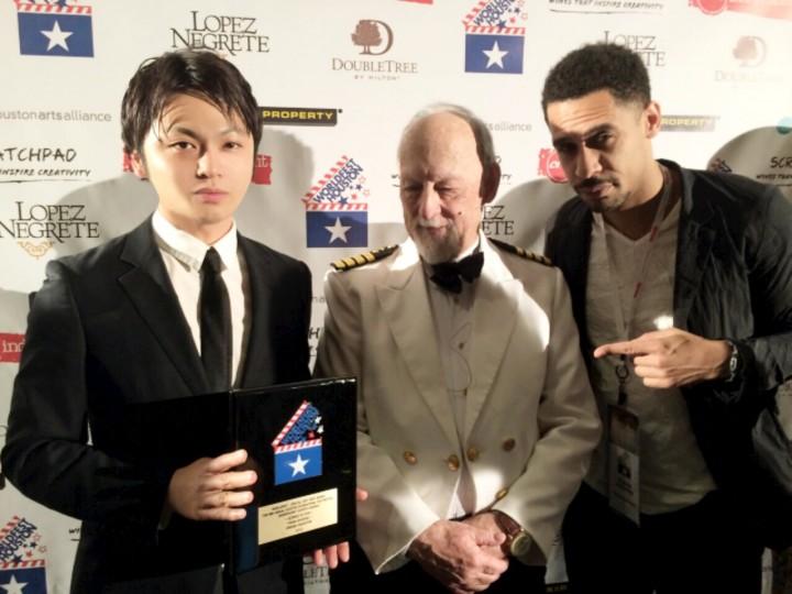 Rashad and Nagabuti Yosuke receives Special Jury Award for their film, 'MUGA SHOZOKU' 2015 ♥