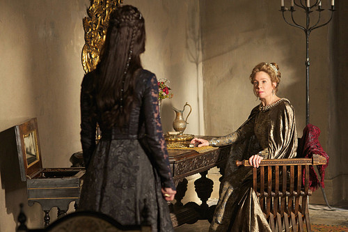 "Reign [TV Show] wallpaper titled Reign ""Burn"" (2x22) promotional picture"
