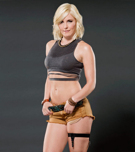 WWE Divas wallpaper possibly containing a bikini and a swimsuit entitled Renee Young