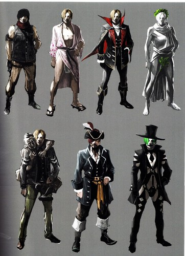 Leon Kennedy 바탕화면 possibly with a lippizan, a tabard, and a surcoat, 외투 entitled Resident Evil 6 Concept Art | Leon Kennedy