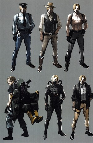 Resident Evil 6 Concept Art | Leon Kennedy