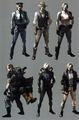 Resident Evil 6 Concept Art | Leon Kennedy - leon-kennedy photo