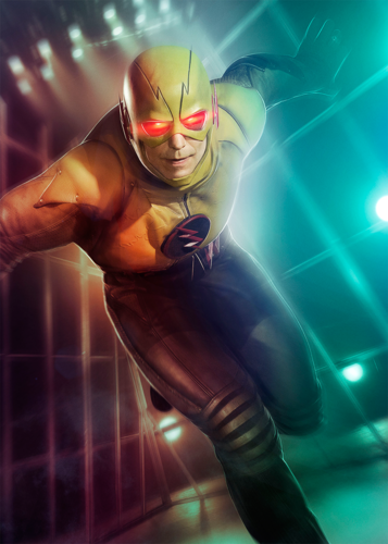 The Flash (CW) वॉलपेपर titled Reverse Flash Poster