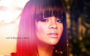 Rihanna karatasi la kupamba ukuta