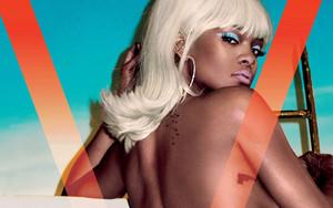 """Rihanna for """"V"""" magazine"""