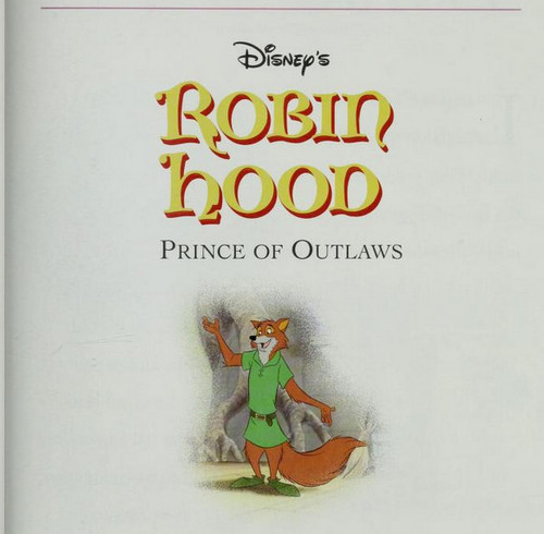 Walt Disney's Robin Hood wallpaper probably with anime called Robin Hood - Prince of Outlaws