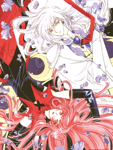 Cardcaptor Sakura پیپر وال possibly with عملی حکمت called Ruby Moon and Yue