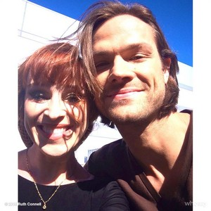 Ruth Connell and Jared