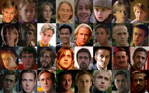Ryan gosling movie collage