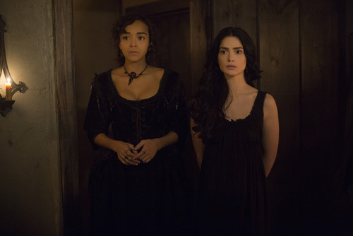 """Salem TV Series wallpaper probably with a candle and a api titled Salem """"The Wine Dark Sea"""" (2x05) promotional picture"""