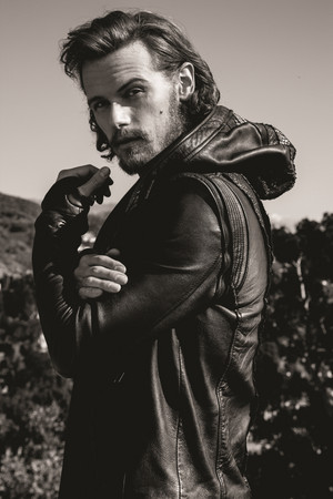 Sam Heughan on Emmy Magazine Photoshoot