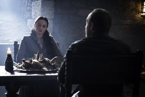 Sansa Stark and Roose Bolton