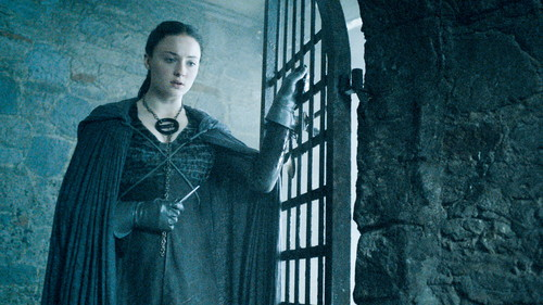 Sansa Stark Hintergrund possibly containing a business suit, a penal institution, and a jail titled Sansa Stark