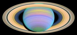 Saturn's Rings in Ultraviolet Light