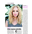 Scan of Candice in the Glamour Mexico (May 2015) - candice-accola photo