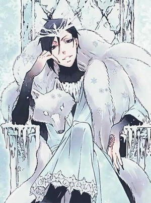 Sebastian as the Ice King