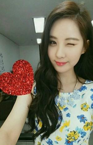 Seohyun's ig post