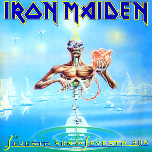 Iron Maiden wallpaper containing anime titled Seventh Son of a Seventh Son