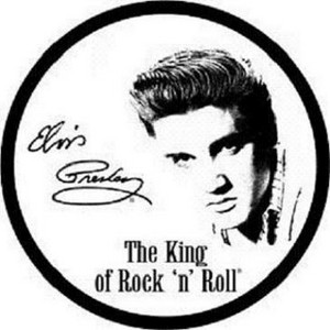 Signed Elvis Presley record