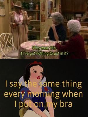Snow White has no boobs