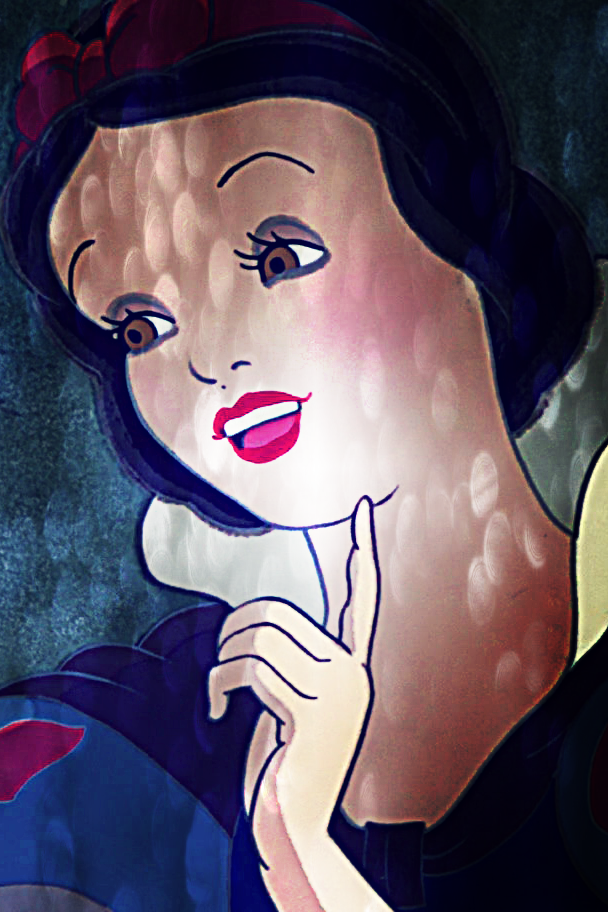 Snow White iPhone 4 Background