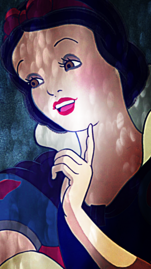 Snow White iPhone 5 Background