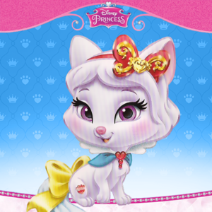 Snow Whites cat Honeycake