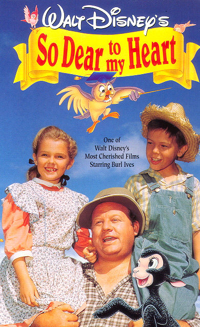 So Dear to My Heart (1948) - VHS Cover