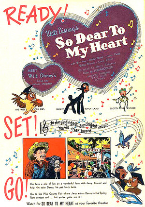 So Dear to My دل (1948) - Classic Poster