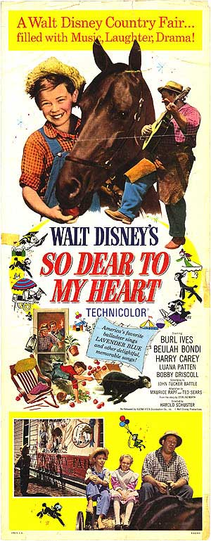 So Dear to My Heart (1948) - Classic Poster