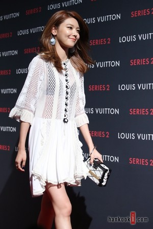 Sooyoung at LOUIS VUITTON