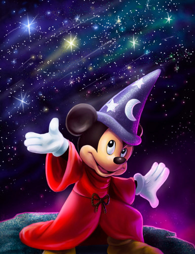 Disney wallpaper titled Sorcerer's Apprentice Mickey