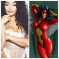 aranha Woman Fancast - Aysia Garza
