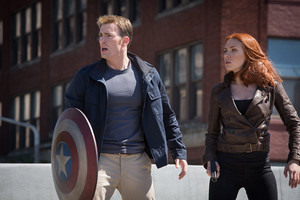 Steve and Natasha - Captain America The Winter Soldier