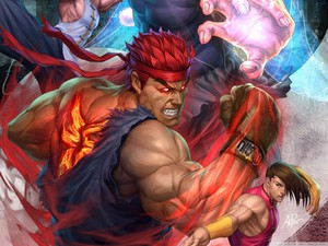 Super jalan, street Fighter Arcade edition