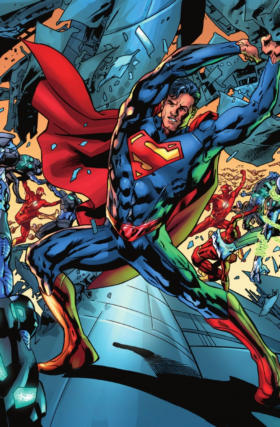 superman the missing link in american Superman is the most powerful being on planet earth, an alien immigrant named kal-el from the planet krypton who was raised in smallville, kansas, to become an american superhero.
