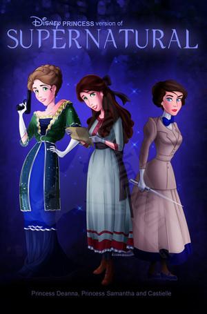 Supernatural (Disney Princess version)