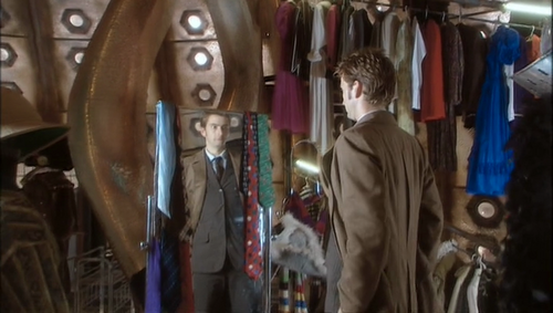 The Tenth Doctor Wallpaper Entitled TARDIS Closet