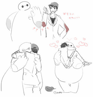 Tadashi and Baymax