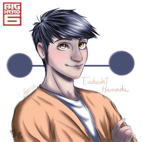 Big Hero 6 Hintergrund entitled Tadashi