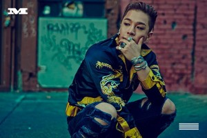 Taeyang's individual shot from recente release