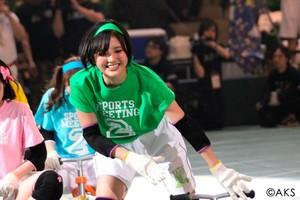 Team K Kodama Haruka AKB48 Sports Festival 2015
