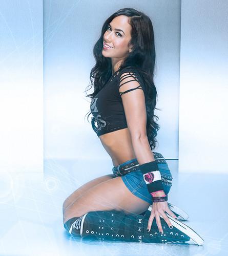 Звезды WWE Обои entitled Thank Ты AJ