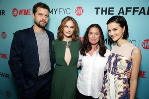 The Affair cast came together for a red carpet rendezvous at our telebisyon Academy / Primetime Emmy
