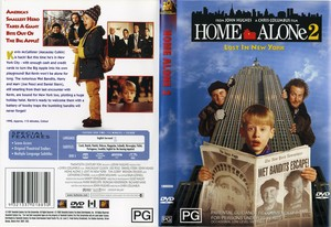 The DVD Cover for घर Alone 2